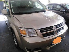 Sell Beige 2009 Dodge Caravan at Automatic Gasoline at 100000 in Manila