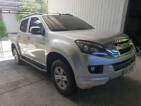 Selling Silver / Grey Isuzu D-Max 2014 Automatic Diesel at 45000 in Manila
