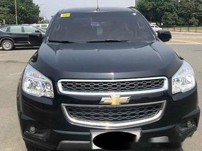 Selling Black Chevrolet Trailblazer 2014 Automatic Diesel at 25000 km