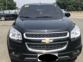 Selling Black Chevrolet Trailblazer 2014 in Makati