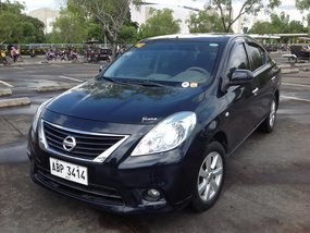 Selling Black Nissan Almera 2015 in Lucena