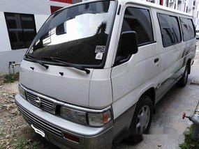 White Nissan Urvan 2012 at 81000 km for sale