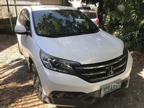 White Honda Cr-V 2013 for sale in Cebu