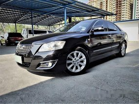 Selling Black Toyota Camry 2007 at 75000 km