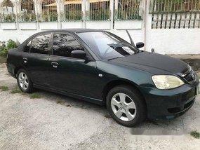 Green Honda Civic 2003 at 145000 km for sale