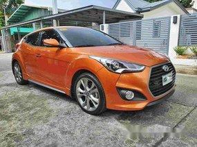 Selling Orange Hyundai Veloster 2018 in Cavite