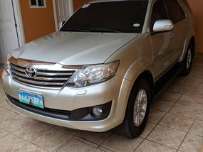 2012 Toyota Fortuner Automatic Diesel for sale
