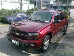 Sell Red 2005 Chevrolet Trailblazer Automatic Gasoline in Quezon City