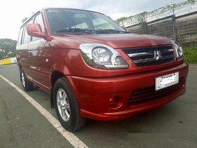 Red Mitsubishi Adventure 2015 at 23000 km for sale