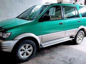 Green Isuzu Crosswind 2004 at 100000 km for sale