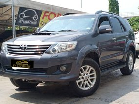 2013 Toyota Fortuner 4x2 G Diesel A/T in Makati