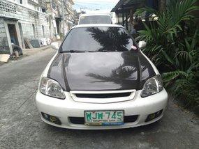 White 1999 Honda Civic at 135000 km for sale