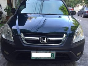 Honda Cr-V 2002 for sale in Quezon City
