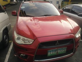 Red Mitsubishi Asx 2012 at 51000 km for sale