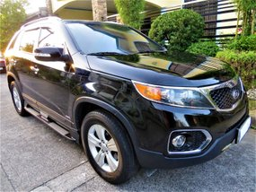 Black Kia Sorento 2011 for sale in Pasig