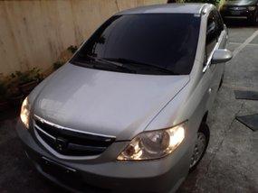 Selling Silver Honda City 2007 Manual in Cainta