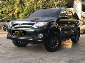 2015 Toyota Fortuner 2.7G VVTi 4x2 Automatic Gasoline Black Edition for sale