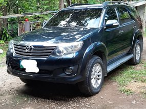 Selling Black Toyota Fortuner 2012 Automatic Diesel