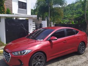 Red Hyundai Elantra 2016 for sale in Manila