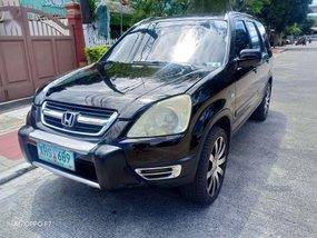 Black Honda Cr-V 2004 for sale in Manila