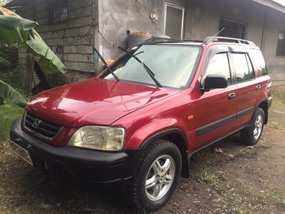 Red Honda Cr-V 2000 Automatic Gasoline for sale