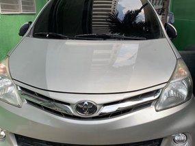 Silver 2014 Toyota Avanza Automatic for sale in Manila