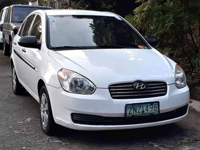 Selling Used Hyundai Accent 2008 Sedan in Las Pinas