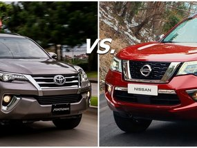 Nissan Terra vs Fortuner: The big & handsome battle it out!