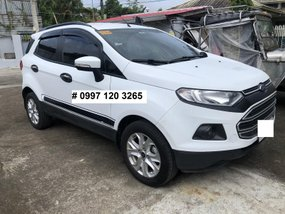 Automatic 2017 Ford Ecosport Trend White