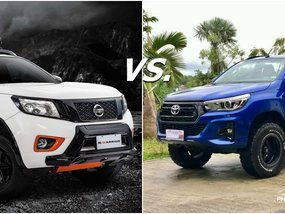 Toyota Hilux vs Nissan Navara Philippines: Truck battle!