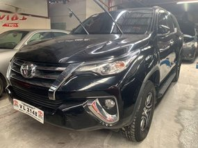 Black Toyota Fortuner 2017 for sale in Quezon City