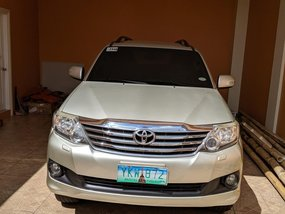 Used Toyota Fortuner 2012 for sale in Cebu City