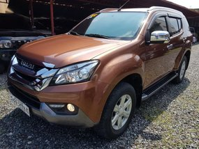 2016 Isuzu Mu-X for sale in Quezon City