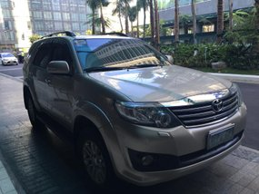 Used Toyota Fortuner 2013 for sale in Makati