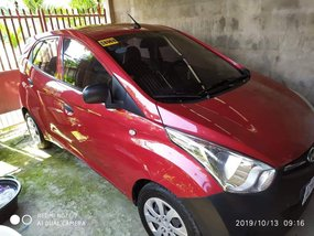 Red Hyundai Eon 2016 at 12000 km for sale