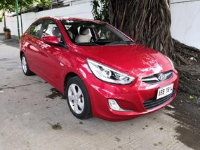 Sell Red 2014 Hyundai Accent in Makati