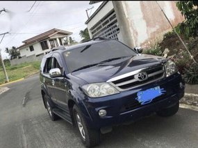 Sell Blue 2008 Toyota Fortuner in Quezon City