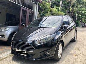 Black Ford Fiesta 2019 Hatchback for sale in Quezon City