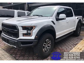 Brand New 2019 Ford F-150 Raptor White