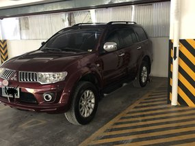 Red 2012 Mitsubishi Montero Sport for sale in Quezon City