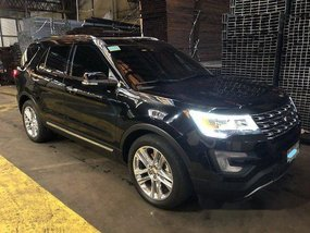 Black Ford Explorer 2017 at 21000 km for sale