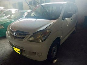 Selling White Toyota Avanza 2009 Manual Gasoline