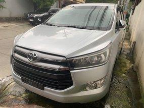 Silver Toyota Innova 2016 for sale in Quezon City