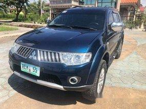 Blue Mitsubishi Montero Sport 2010 for sale in Cebu