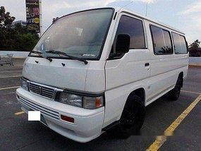 White Nissan Urvan 2013 for sale Quezon City