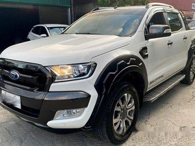 Selling White Ford Ranger 2018 Automatic Diesel in Pasig