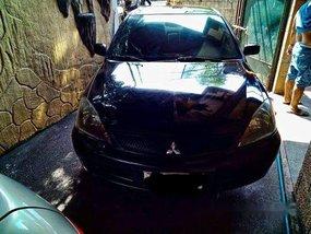 Black Mitsubishi Lancer 2010 Manual Gasoline for sale