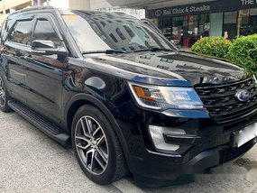 Selling Black Ford Explorer 2017 Automatic Gasoline
