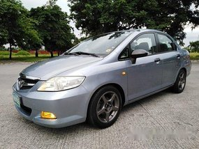 Silver Honda City 2008 at 120000 km for sale