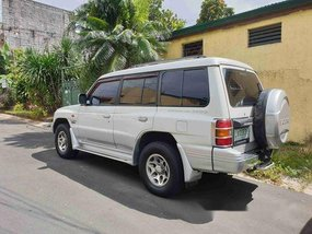 White Mitsubishi Pajero 2001 for sale in Quezon City